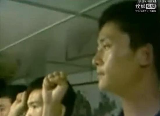 28年前,杨志亮登礁作战前庄严宣誓