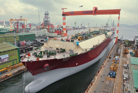 ▲韩国造船业