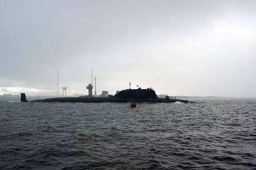 """▲""""亚森""""级多用途核潜艇 资料图"""