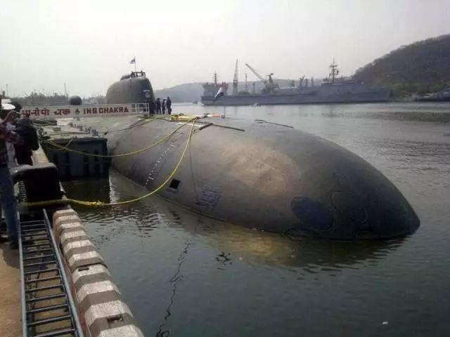 """▲""""查克拉""""号核潜艇 资料图"""