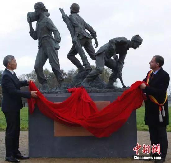 100年后 这14万中国人终于被欧洲人想起