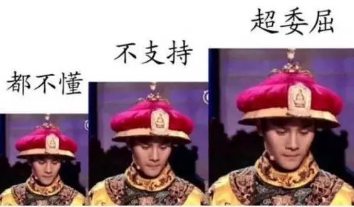 ▲王凯在节目中扮演的乾隆。图/@CCTV国家宝藏