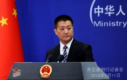 ▲中国外交部发言人陆慷