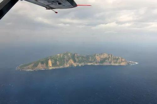 ▲资料图片:这是从中国海监B-3837飞机上拍摄的钓鱼岛及其附属岛屿画面。
