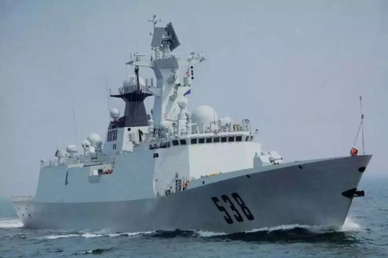 ▲资料图片:中国海军054A型护卫舰