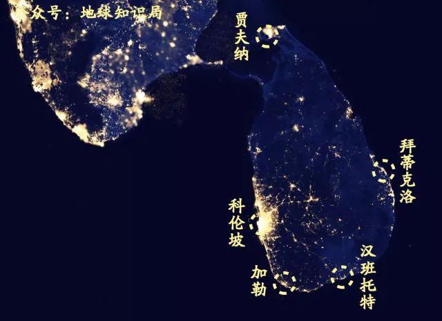 ▲斯里兰卡不缺港口,但是基建水平却相当堪忧。