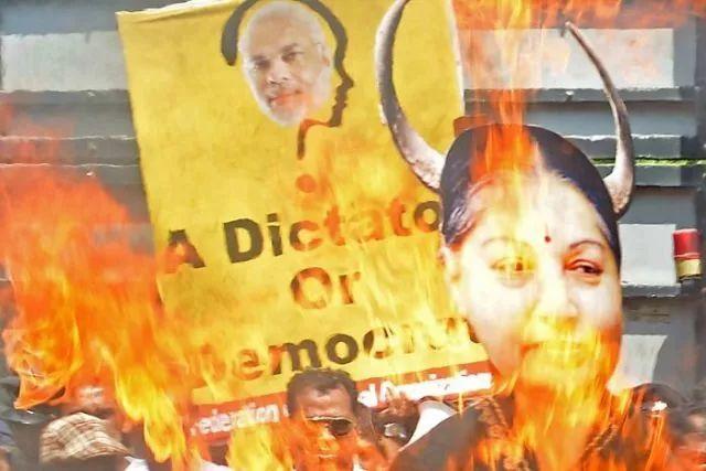 ▲印度延续了干预的动机,斯里兰卡也把抗议延续了下来。