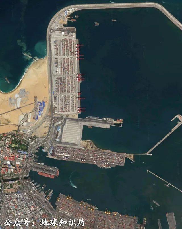 ▲科伦坡港背后,或许站着某基建狂魔。