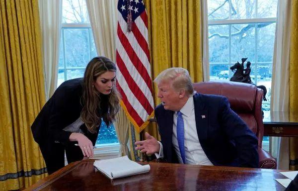 ▲总统团队中有人认为希克斯并不想保护总统,总是支持特朗普的冲动行为。(路透社)