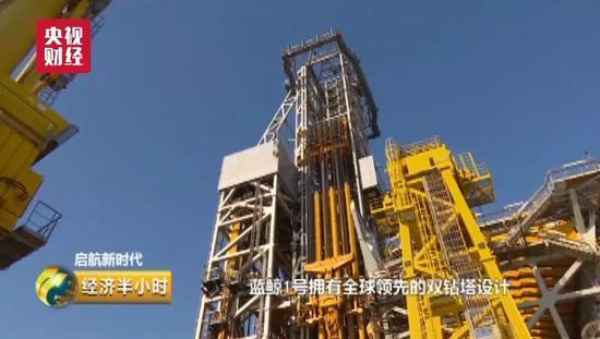 杨鹏 :像这样一个双钻塔的钻井系统,从技术参数的角度说,能提高30%的效率。