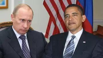 ▲资料图:美国与俄罗斯因叙利亚和乌克兰问题矛盾激化。图为普京与美国前总统奥巴马。