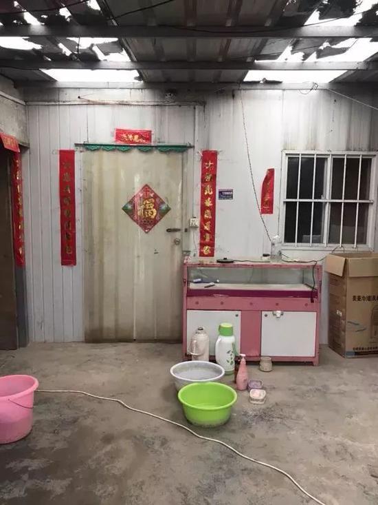▲刘振华家的小院。新京报记者贾世煜 摄