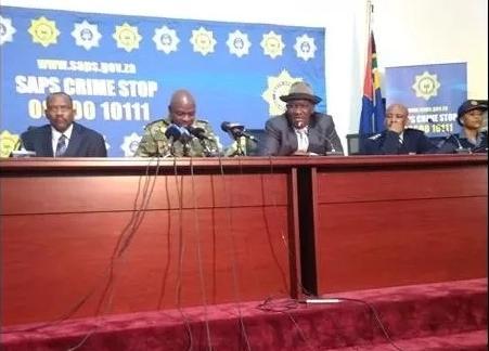 """""""六大类犯罪""""将成为南非警方打击焦点"""
