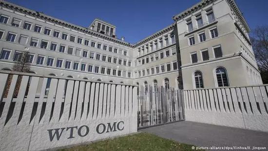 ▲世界贸易组织大楼外观