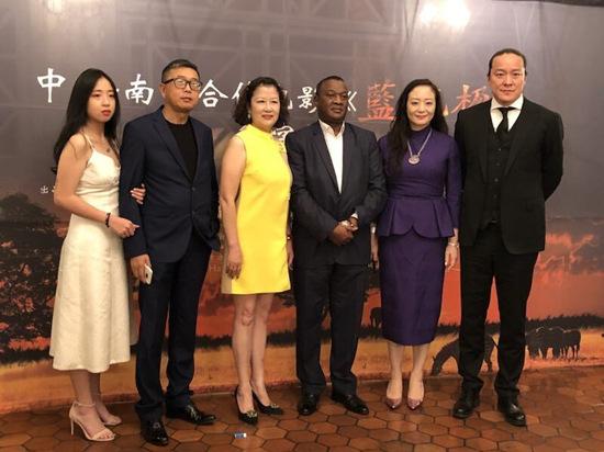 中国-南非合拍电影《蓝花楹》签约代表合影