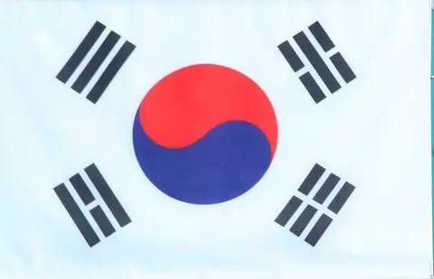 韩国太极旗的正确挂法(韩联社)