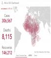 非洲累计新冠肺炎确诊病例超30万例 南非病例累计近10万例