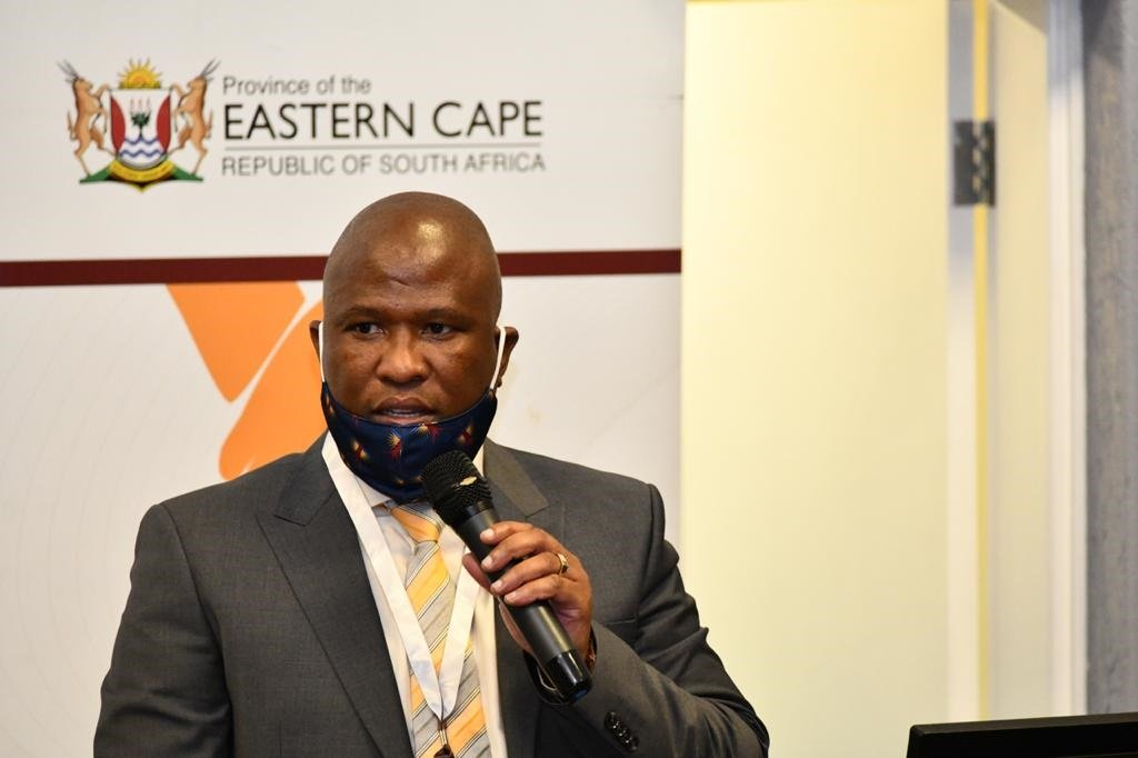 Eastern Cape Premier Oscar Mabuyane