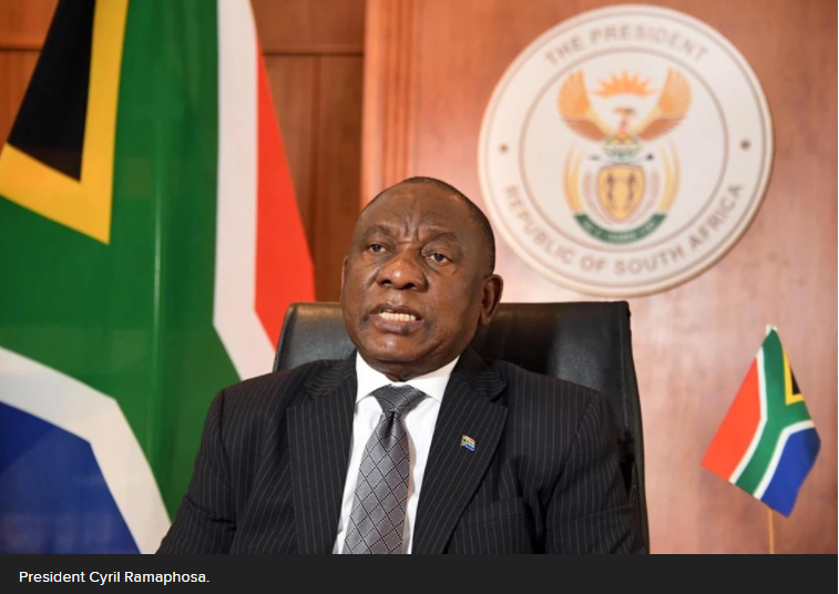 一级禁闭:南非总统召开高层会议 讨论放松管制的可能性