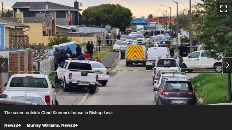 |西开普省顶级侦探查尔·金尼尔在家门前被枪杀