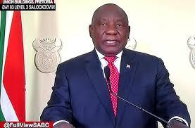 """拉马福萨总统宣布将南非全国""""封禁""""降为一级"""