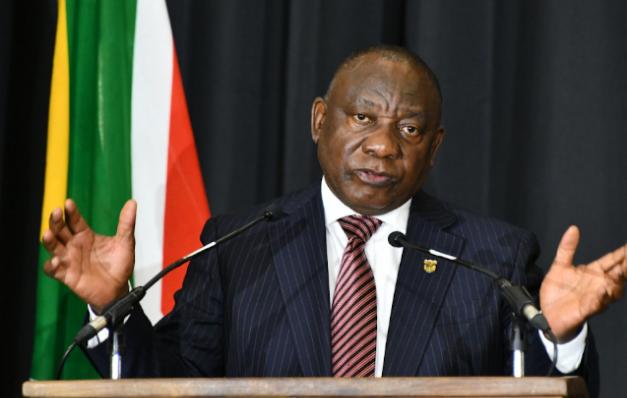 南非拉马福萨总统会见美国商会商讨投资事宜