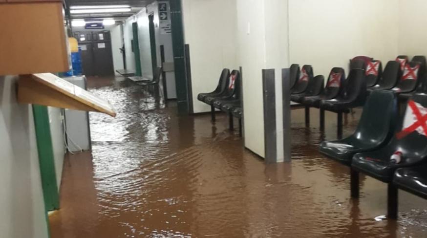 西北省医院被洪水淹没 部分区域关闭包括Covid-19重症监护室