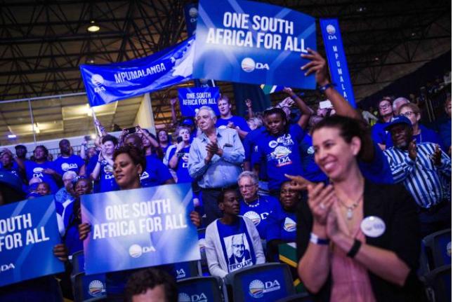 """DA将在5月份举办南非""""最大的网络政治集会"""""""