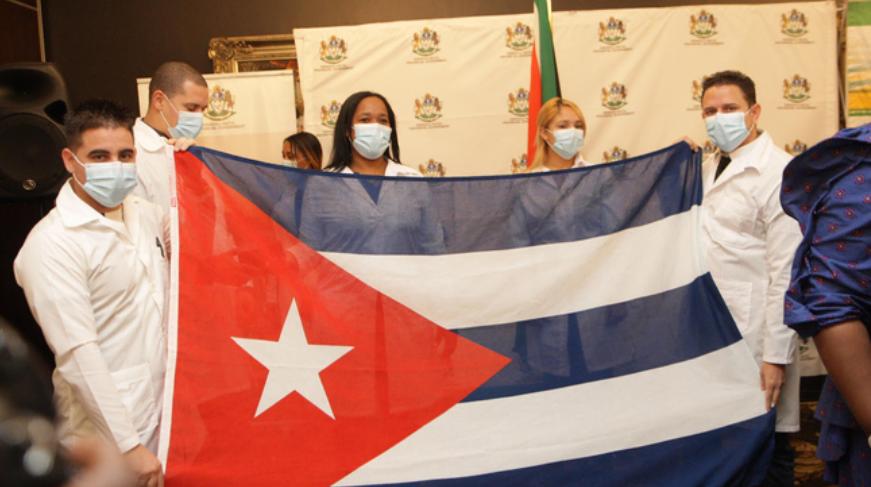 历时一年!古巴医生在豪登省抗击Covid-19获得3200万兰特资助