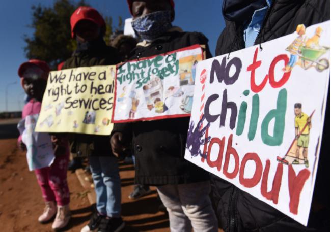 南非豪登省报道了1339起儿童虐待案 其中656宗性虐待