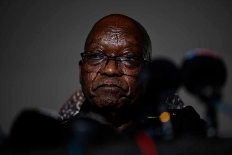 南非前总统雅各布·祖玛获得同情假,参加弟弟的葬礼