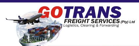 南非本地GoTrans白人货代清关公司,欢迎洽谈合作