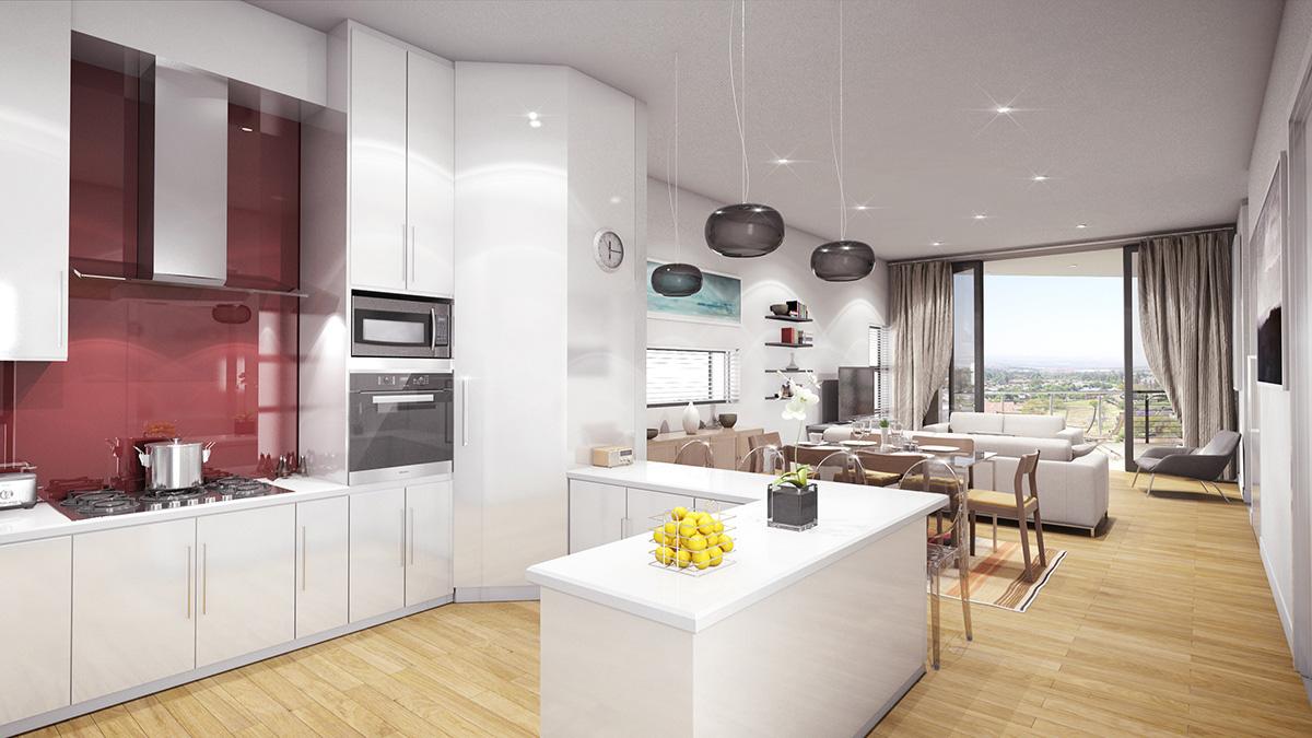 Sandton新开发豪华公寓现在出售