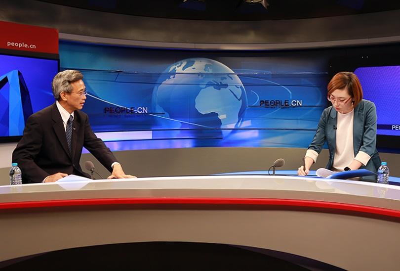 南非中国人交流论坛_驻南非大使林松添专访:中国与南非相依未来、发展前景广阔