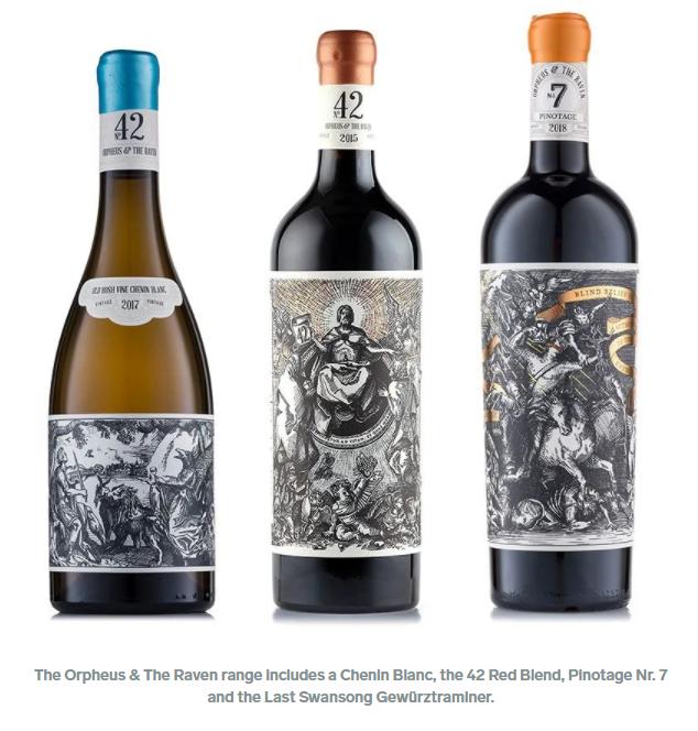 南非葡萄酒的标签刚刚被评选为世界上最好的