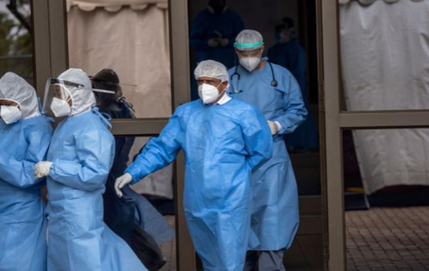 南非3个省份的Covid-19病例出现激增现象