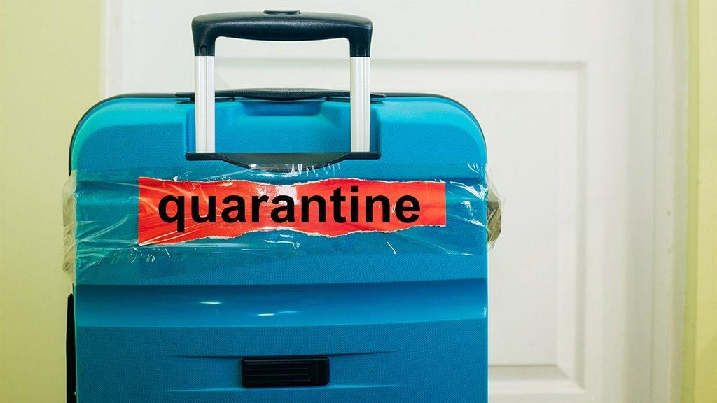 South Africa travel quarantine